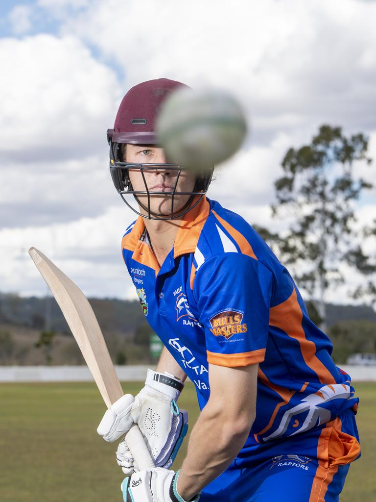 Valley Raptors first draft pick Harry Wood, from Laidley, is fortunate to play with his home team for a second season in a row as part of the DDBBL. PHOTO: ALI KUCHEL
