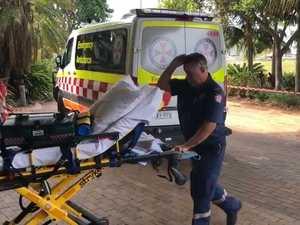 Mayor suffers medical episode