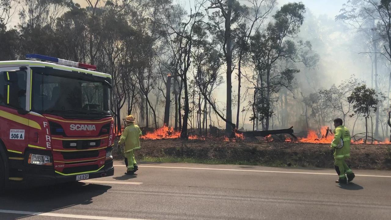 Mt Cotton Rural Fire Brigade volunteers reignite election stoush