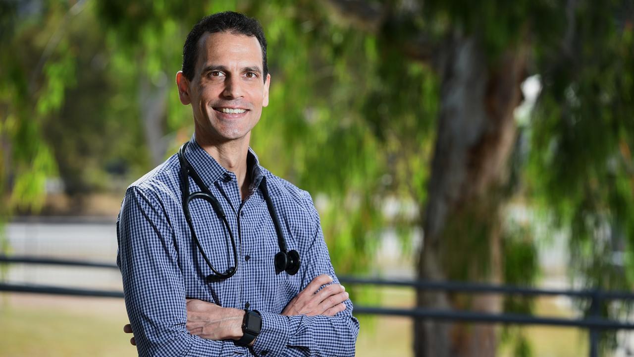 Dr Sebastien Stephens will join Dr Myint Soe at the Collinsville Multipurpose Health Service. Picture: Scott Radford-Chisholm