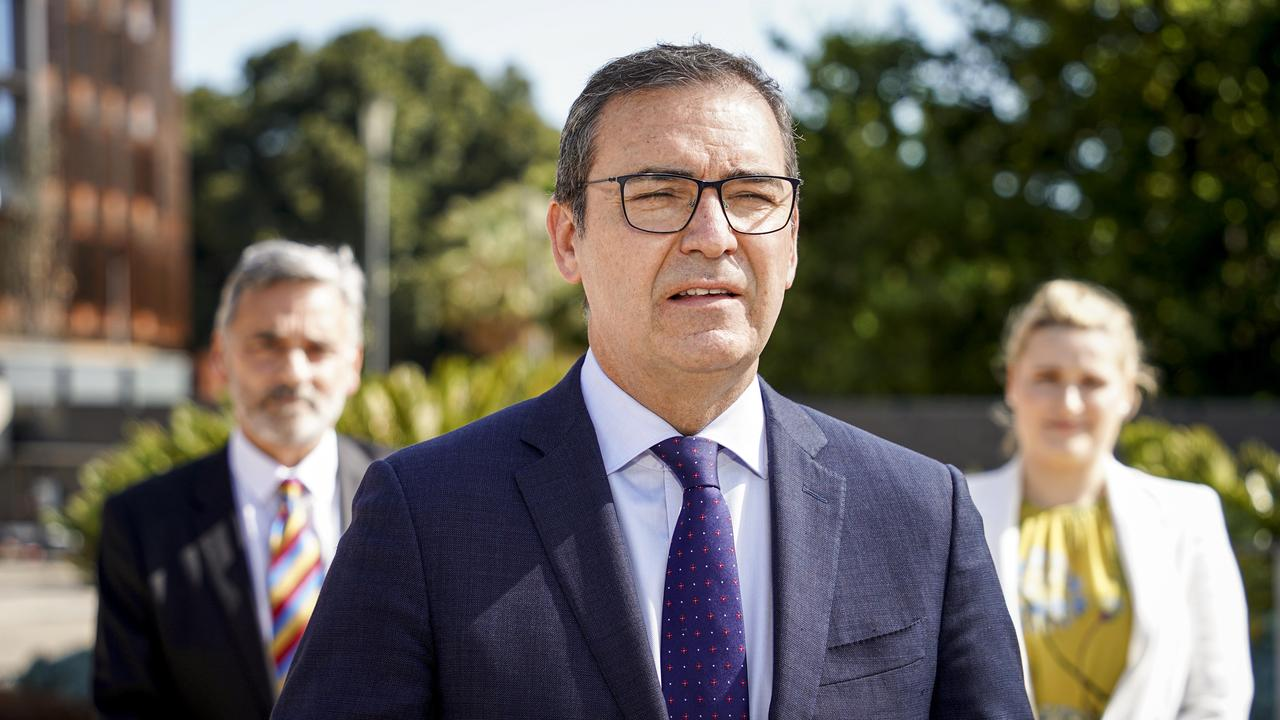 SA Premier Steven Marshall says it is the 'right time' for South Australia to reopen to NSW. Photo: Mike Burton