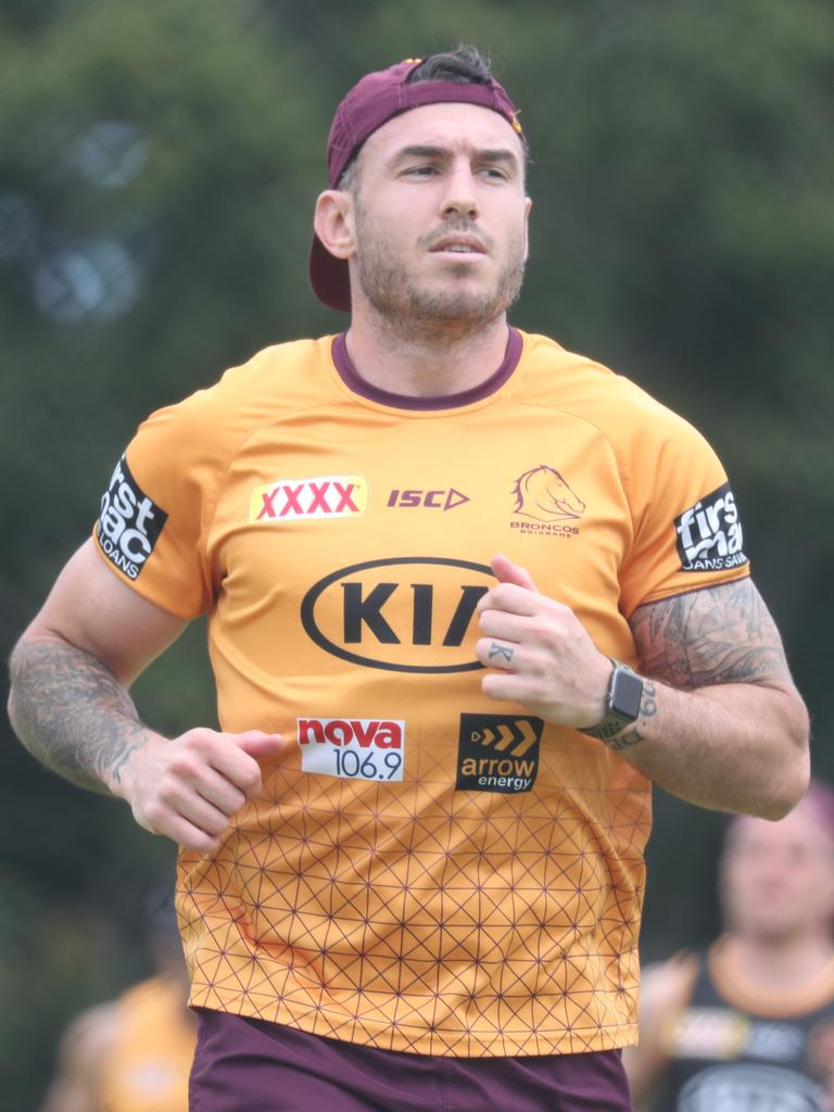 Darius Boyd. At his last training session