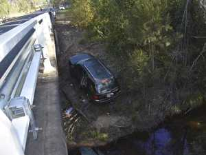 AIRBORNE THEORY: How did this SUV end up here?