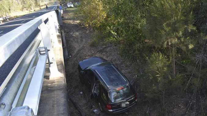 WATCH: How did this SUV end up here?