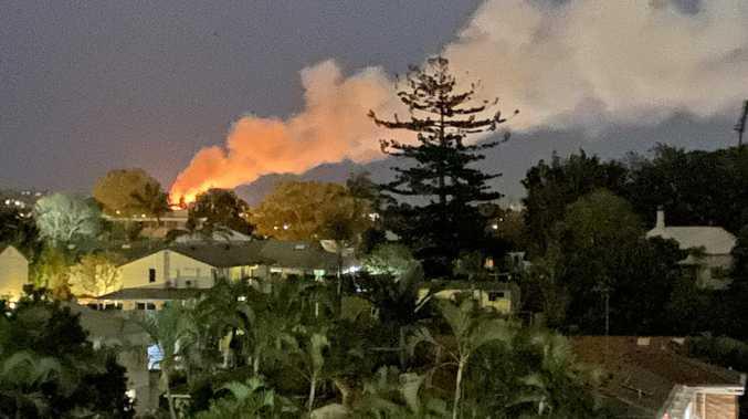 Massive blaze engulfs childcare next to school