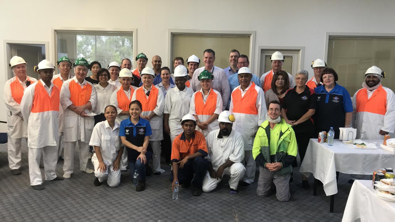 Teys Australia Rockhampton staff.