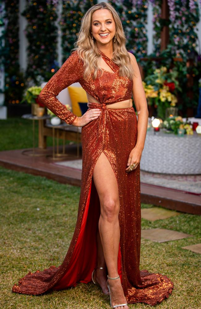 Izzy Sharman-Firth was eliminated from The Bachelor on Wednesday night. Picture: Channel 10