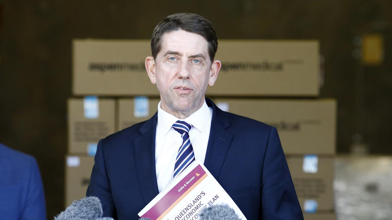 Queensland State Treasurer Cameron Dick has called out Opposition leader Deb Frecklington over election promises. Photo: File