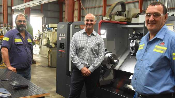 Butcher MP continues manufacturing tour of CQ