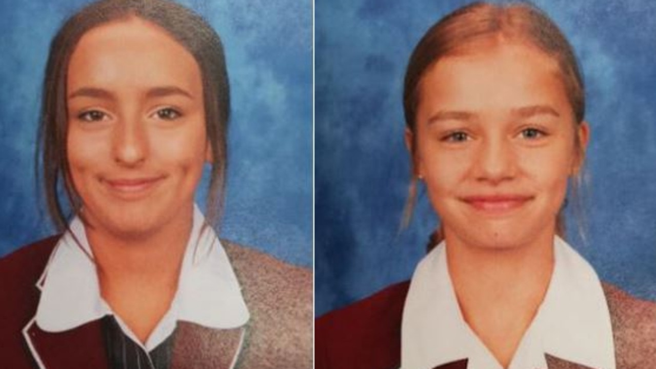 Tasmania Police have asked the public to help after two 14-year-old school girls went missing earlier today.