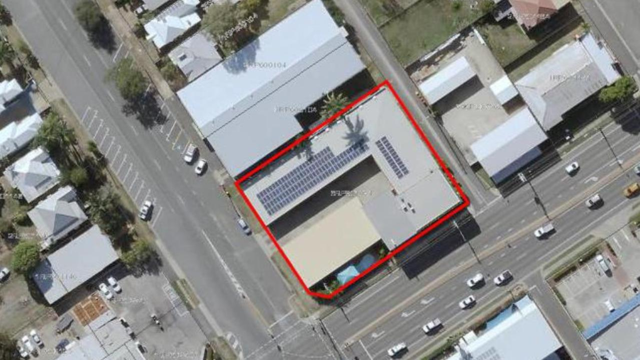 Site location of the Fitzroy Motor Inn.