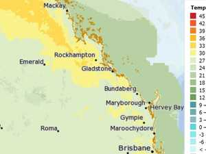 Warm and wet Wednesday expected for Central Queensland