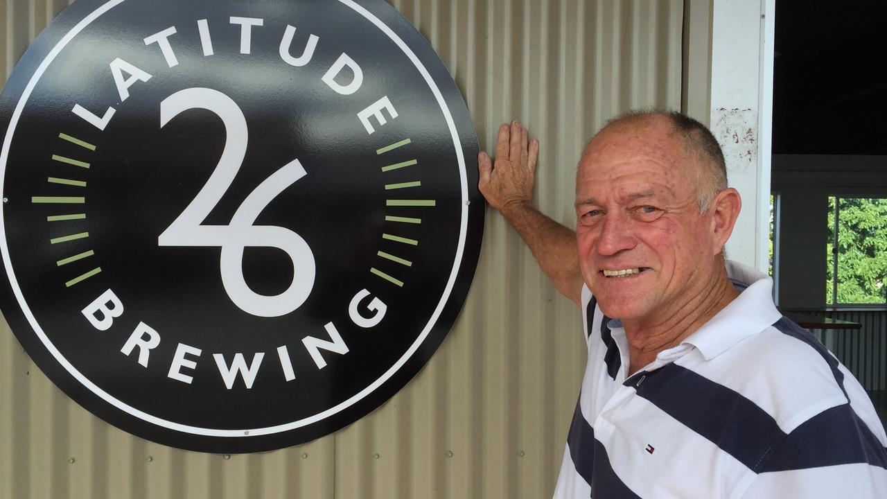 Latitude 26 Brewing owner Graham Kidd.