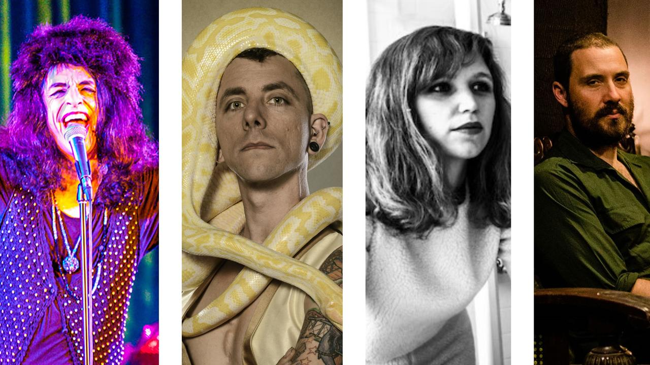 Some of the artists in the Brunswick Picture House line up for the next couple of months.