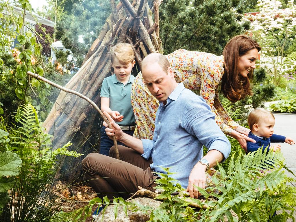 Being a dad has made Prince William take an active role in protecting the planet. Picture: Matt Porteous/Kensington Palace via Getty Images