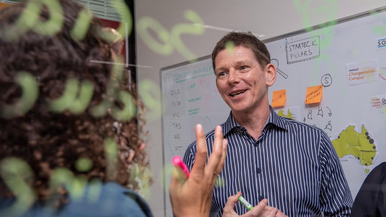CQUniversity social innovation program manager Steve Williams.