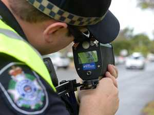 Driver busted going more than 40km over limit