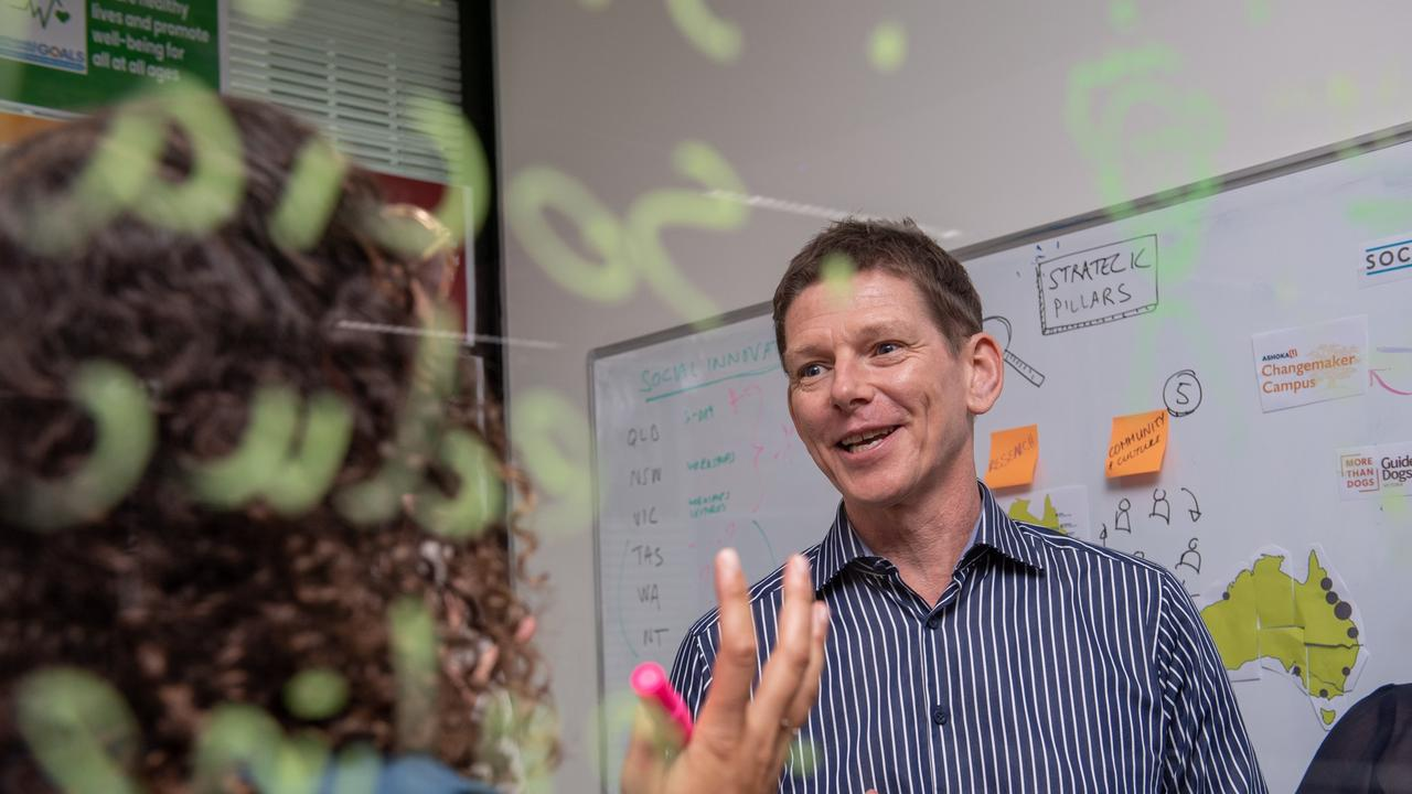 CQUniversity Social Innovation Project Manager Steve Williams. Photo contributed