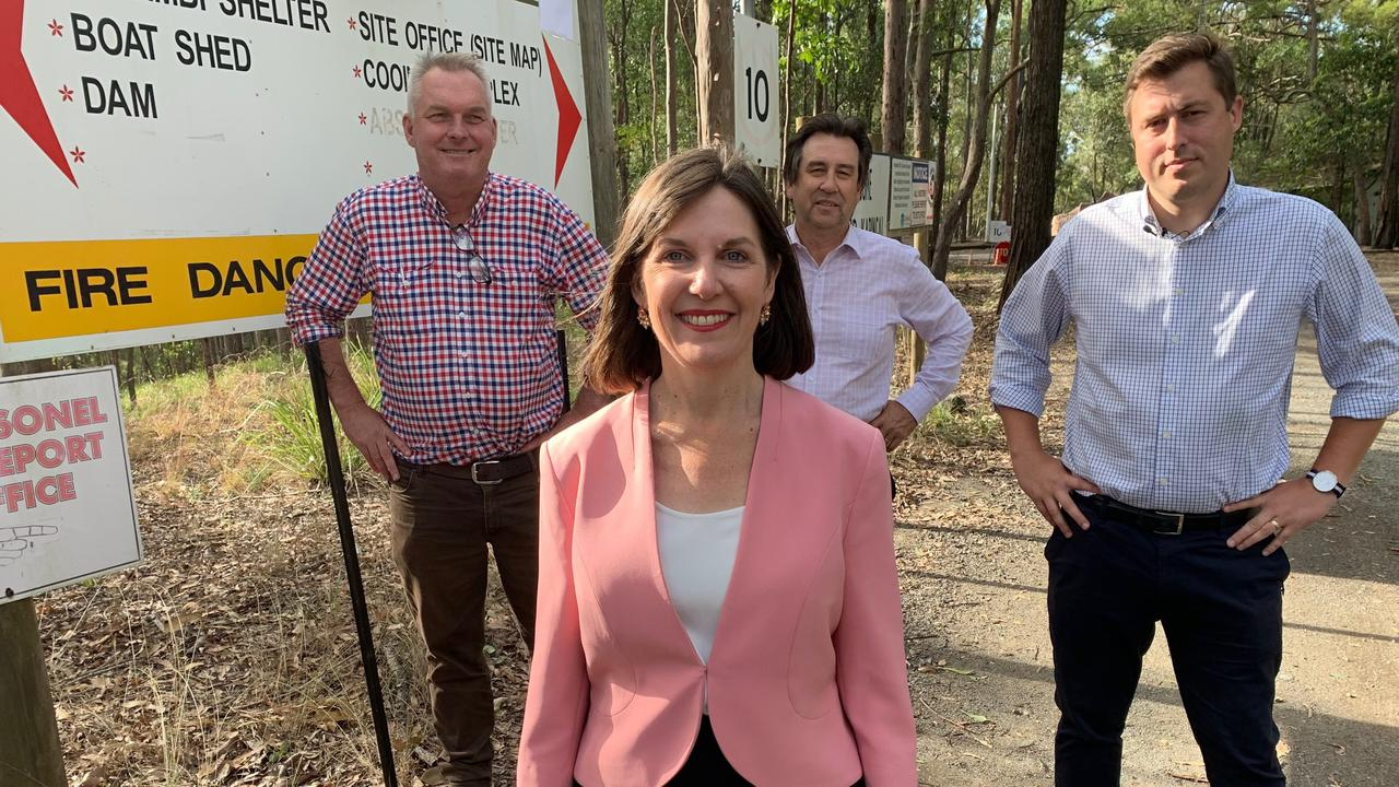LNP candidate for Springwood Kirrily Boulton says she will give $500,000 to the Brisbane Regional Headquarters Rural Fire Brigade which patrols Mount Cotton.