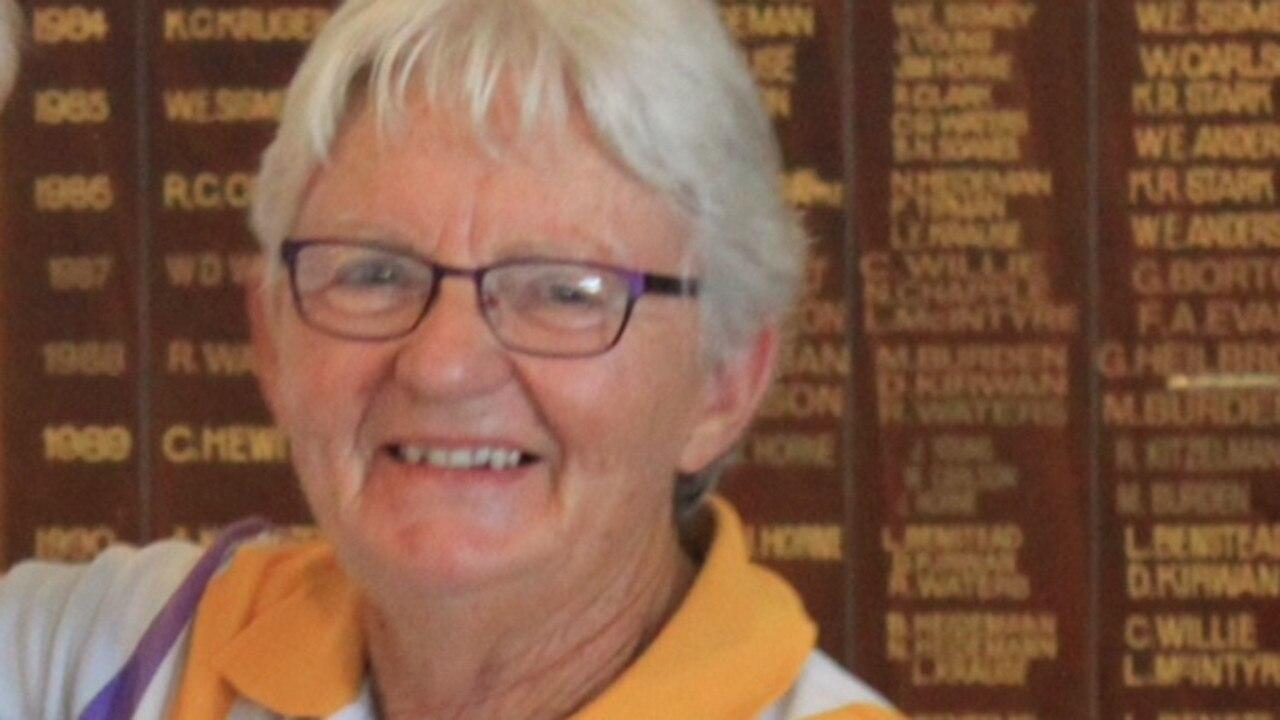 WINNER: Judy Allen won the Sunshine Ladies Championship Singles Final.
