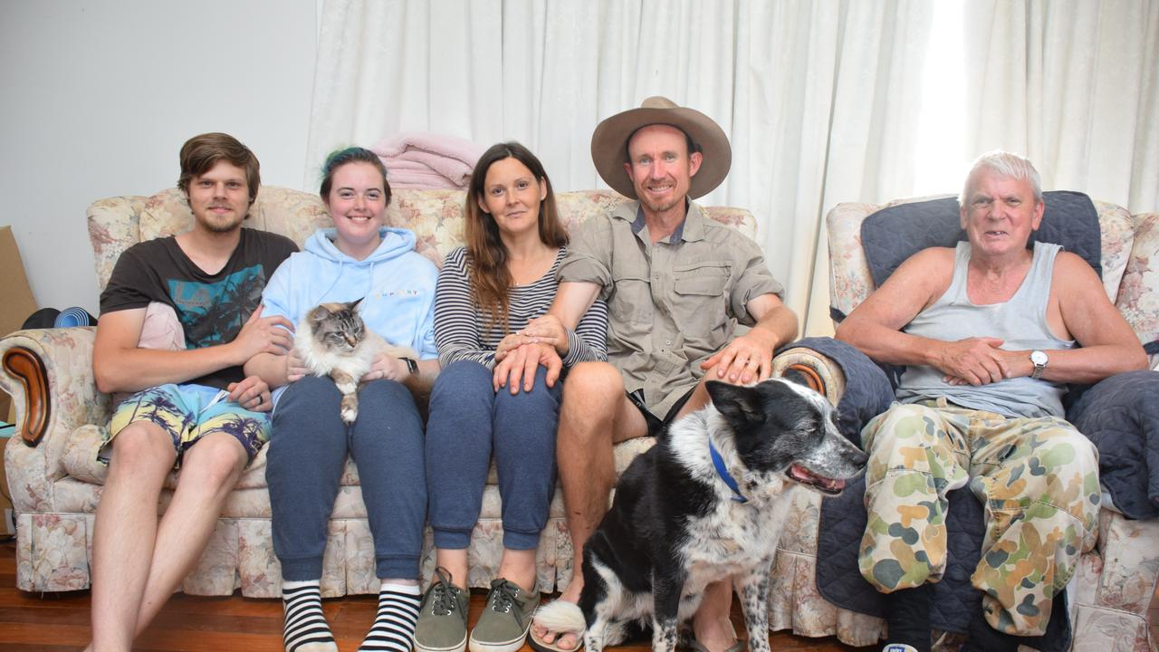 Andrew and Shian Scale with Tamara and Neil Rowe and Damian Fletcher with their two pets Sherlock Holmes and Panda. (Picture: Tristan Evert)