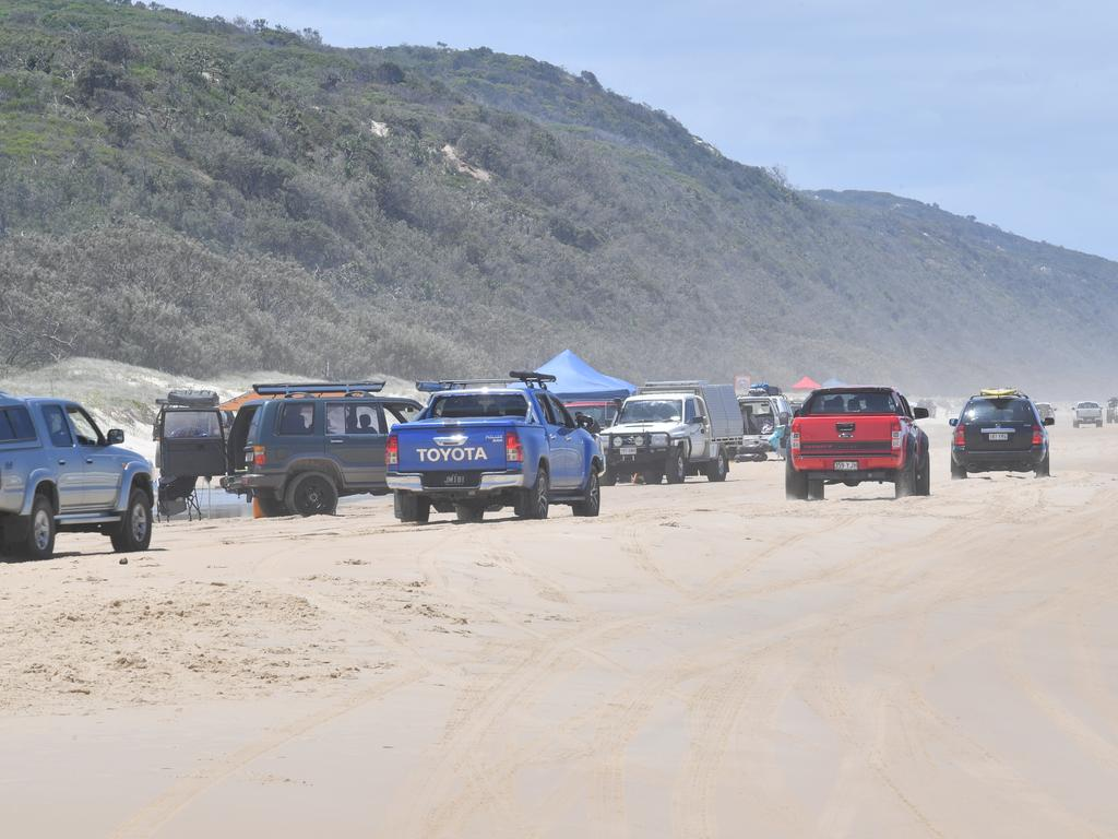 """A Facebook group with more than 1300 people interested in a Noosa North Shore """"bush doof"""" has emerged as Schoolies scramble to find alternatives amid COVID-19 restriction. Photo: John McCutcheon"""