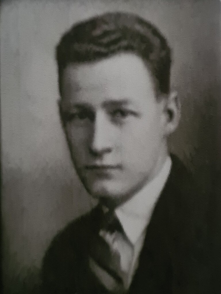 Young Harold Vivian Marsh Brown.