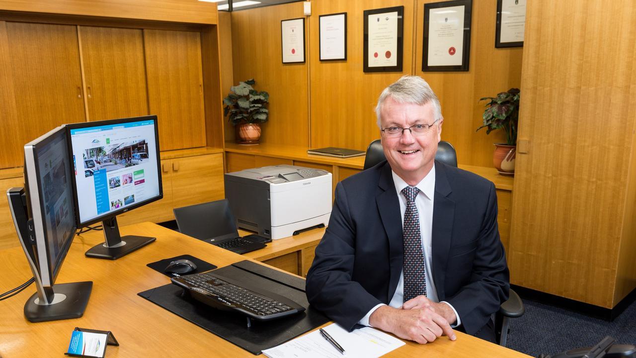 Bundaberg Regional Council CEO Steve Johnston.
