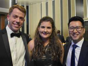 Miners replace coal dust for glamour at awards night