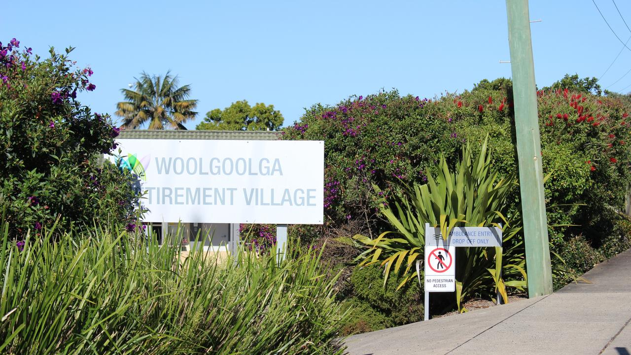Aged care facility Woolgoolga Retirement Village.