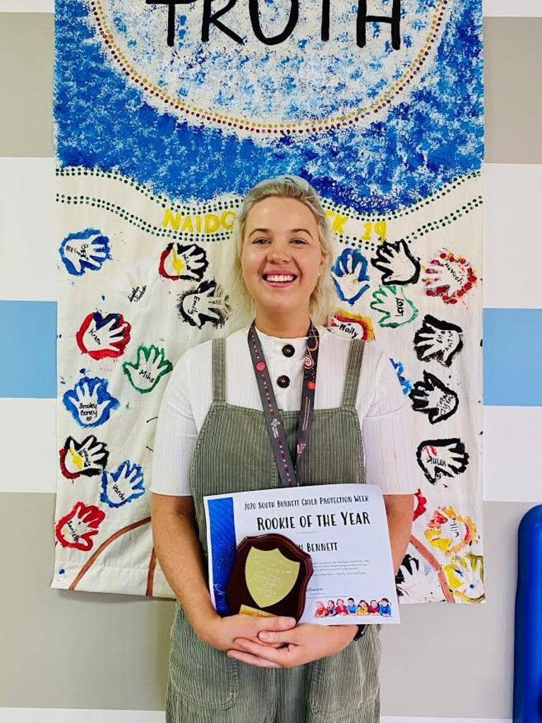 Faith Bennett, Child Safety Officer at South Burnett CSSC. Photo/Kimberley Francis