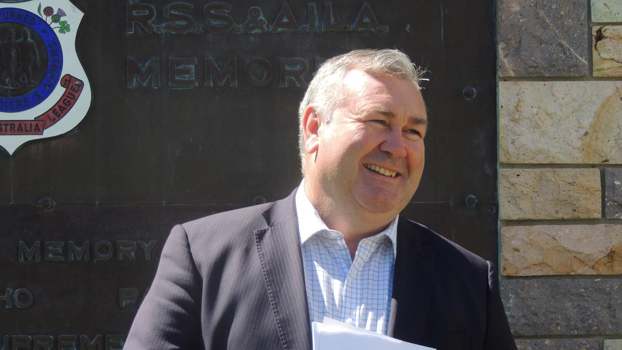 ADVOCACY LIST: Bundaberg Regional Council Mayor Jack Dempsey.