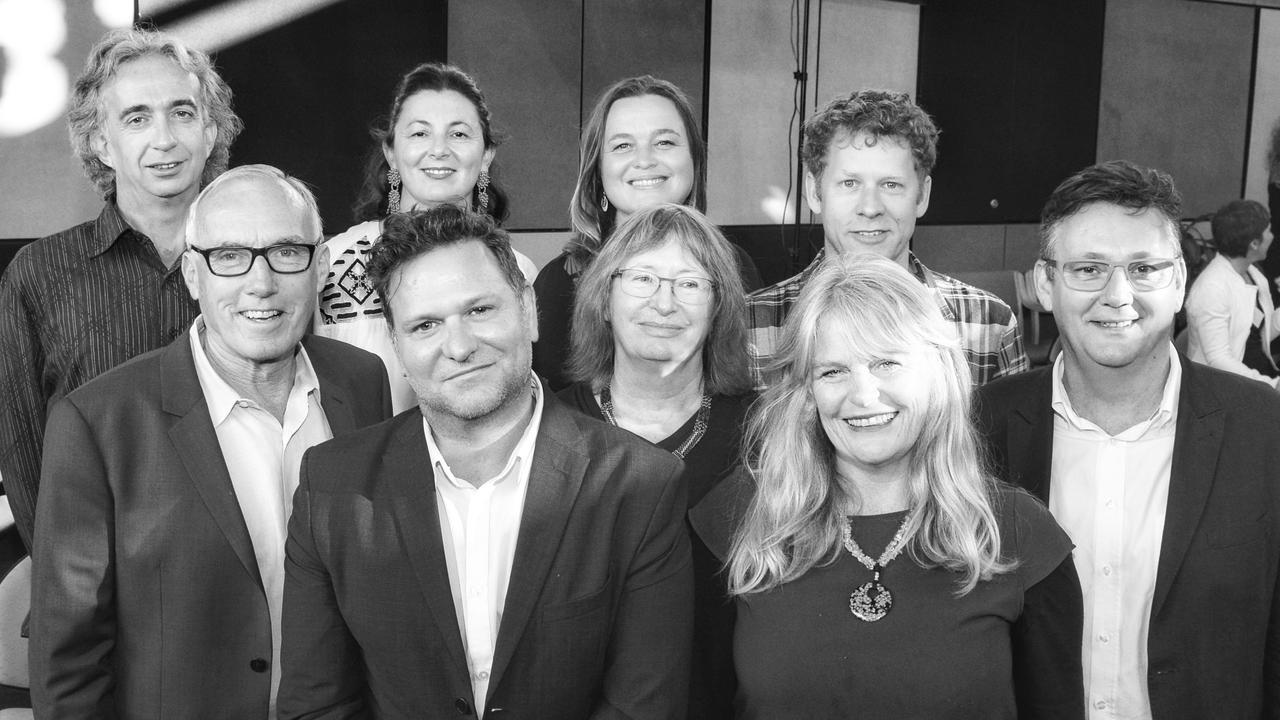 Byron councillors. Back: Basil Cameron, Cate Coorey, Sarah Ndiaye, Michael Lyon. Front: Alan Hunter, Simon Richardson, Jan Hackett, Jeanette Martin and Paul Spooner.