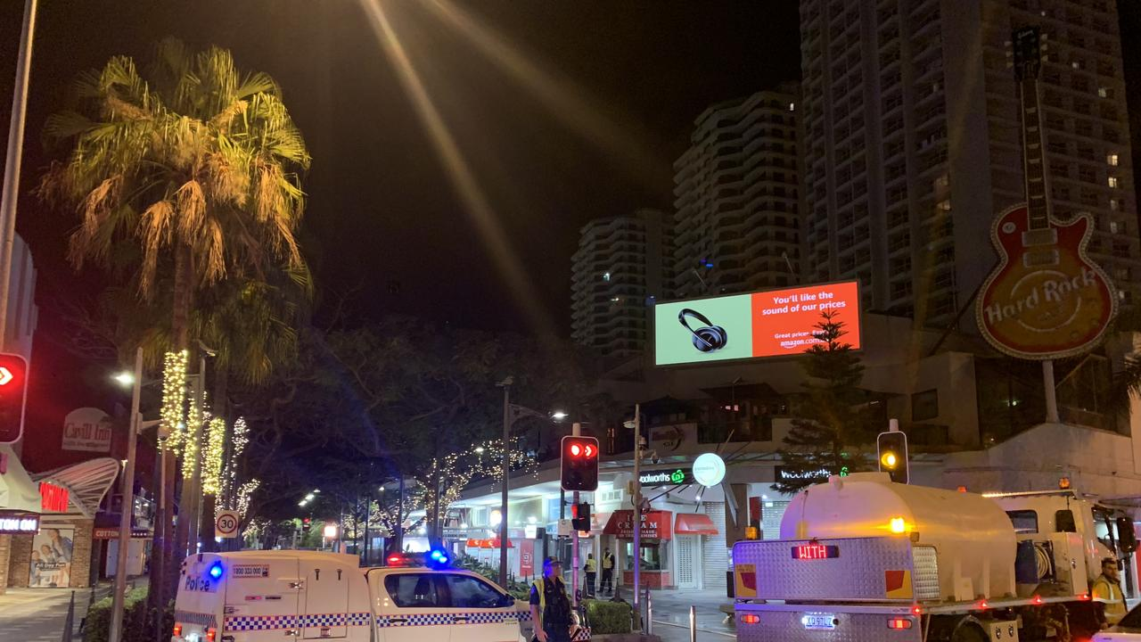 Police in Surfers Paradise after a 27-year-old Beenleigh man was allegedly stabbed to death.