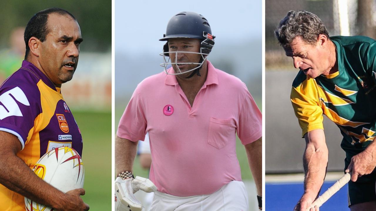 Steve Kirby, Matt Pigg and Mick Russ all made the Top 10 veterans in Clarence Valley sport