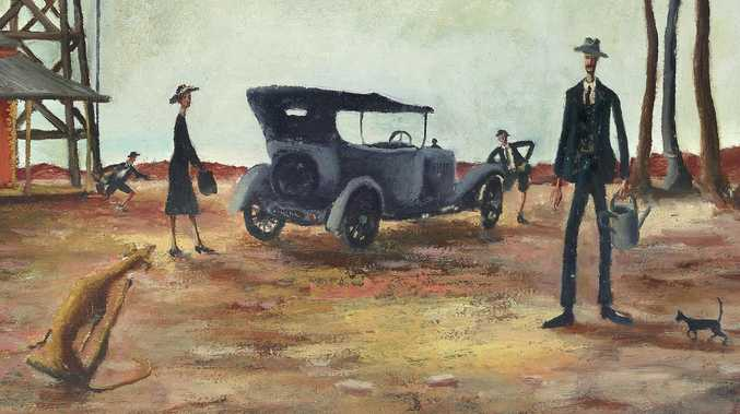 Record price expected for Russell Drysdale painting