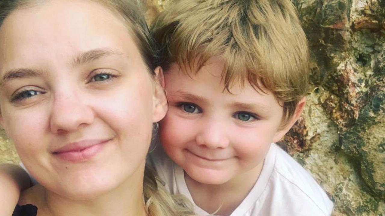 A woman who used cannabis prior to a high-speed crash that killed her seven-year-old son and friend has pleaded guilty to causing their deaths.