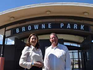 STADIUM SHOWDOWN: State pledges $25M to Browne Park