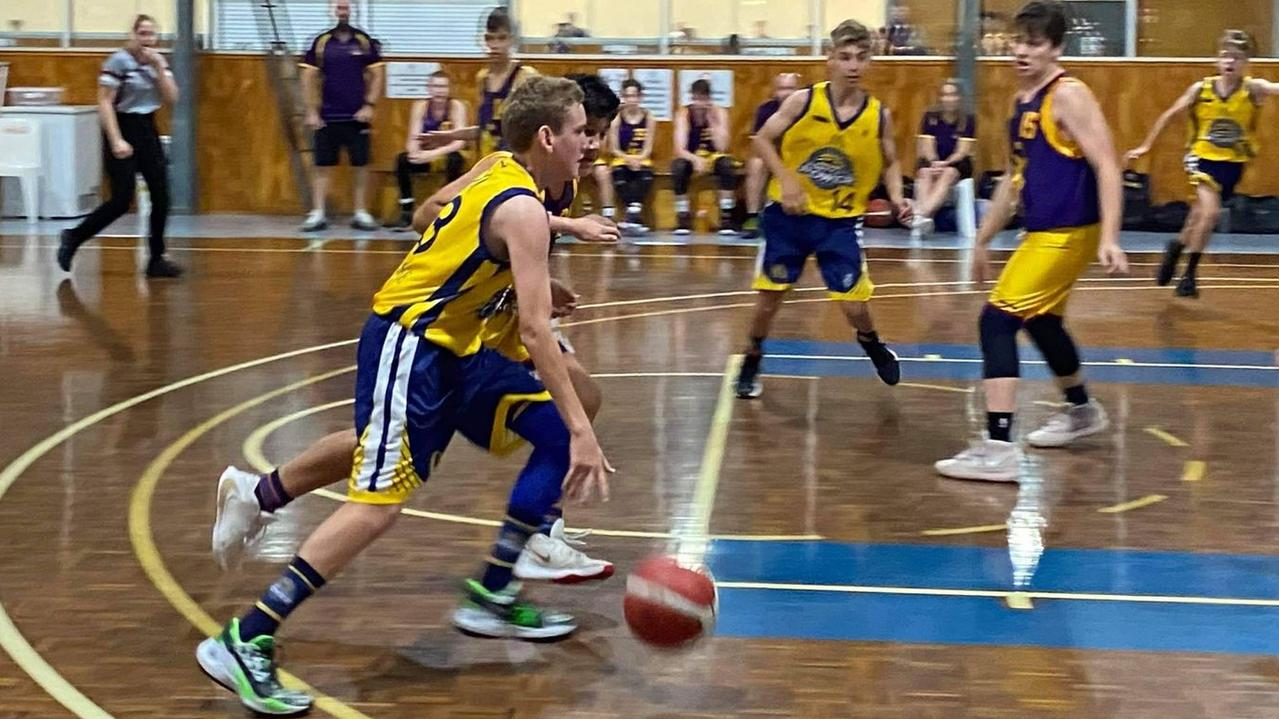 The Gladstone Power U14 boys basketball team suffered back-to-back losses today, but their coach said the team would fight back tomorrow.