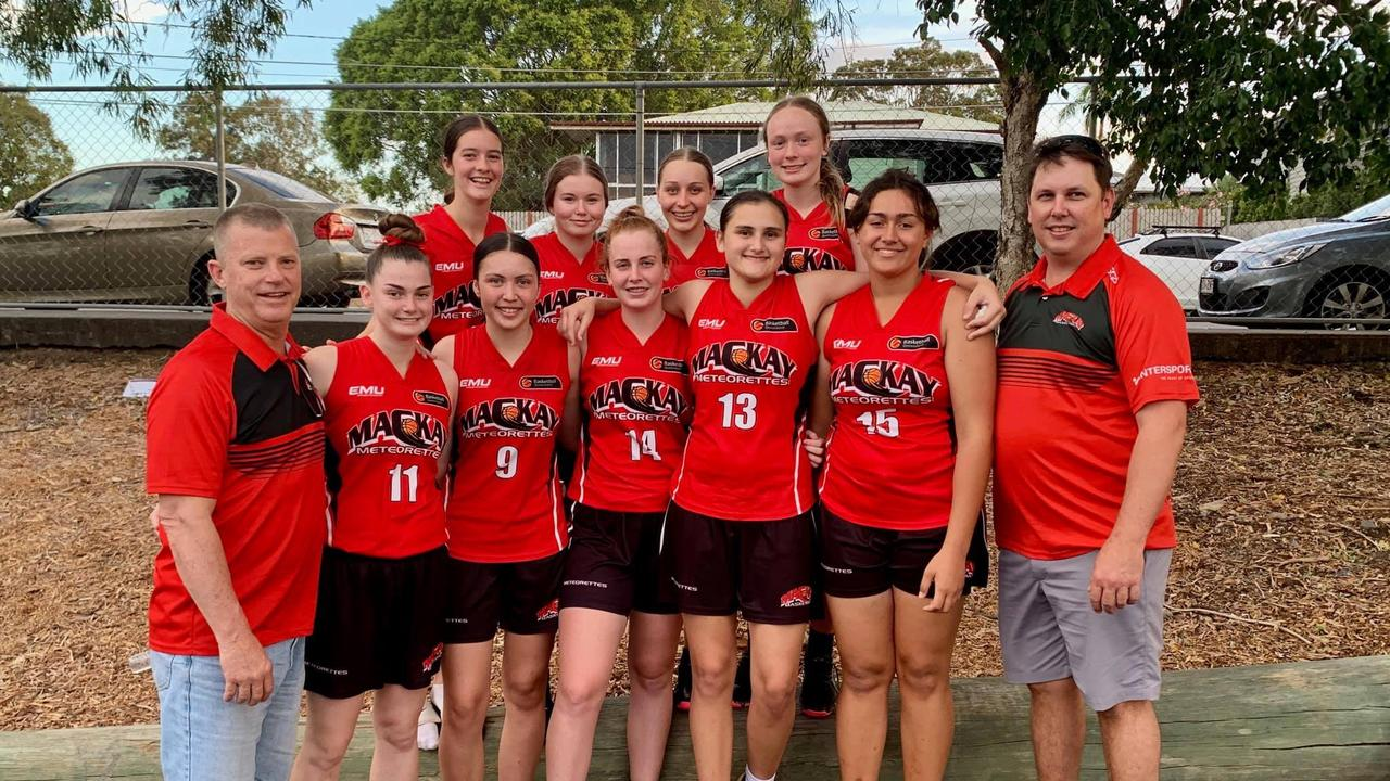 The U16 Mackay Meteorettes are into the gold medal match at the State Championships.