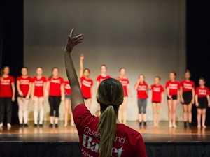 Queensland Ballet hosts dance camp in Gladstone