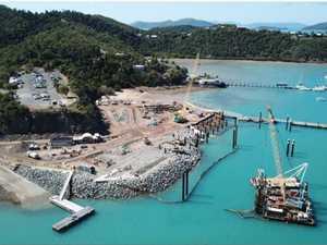 30cm headache in Shute Harbour restoration