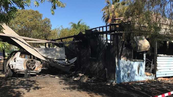Fire investigators on scene to determine Roma home blaze