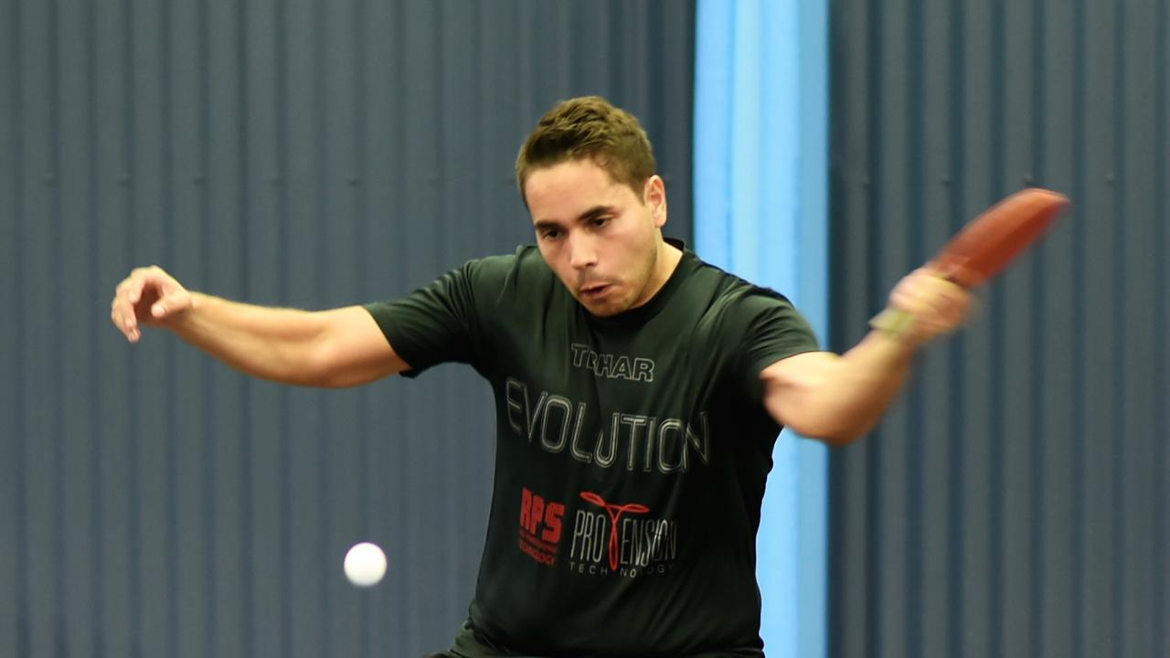Brisbane's Bruno Levis proved too strong for Mackay's Chanung Jung in the Mackay Open men's final.