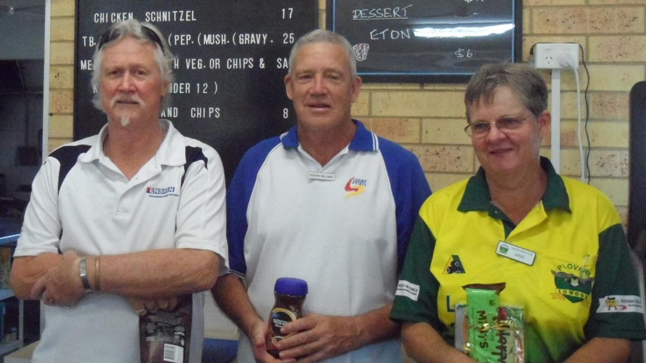 Winners of Thursday 17th Sept Peter Ross Stefan Williams and Vicki Cameron