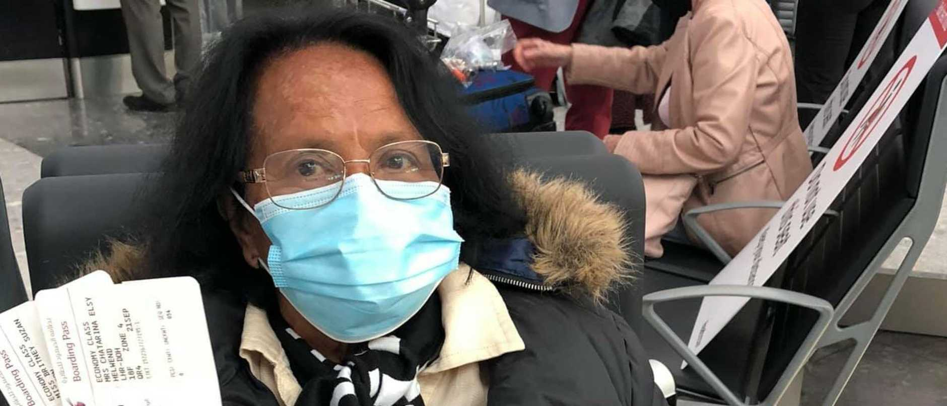 A grandmother has finally made it back to Australia after being stranded in Spain for six months during the coronavirus pandemic.