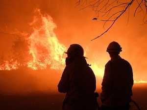 'Very high' fire danger as season returns
