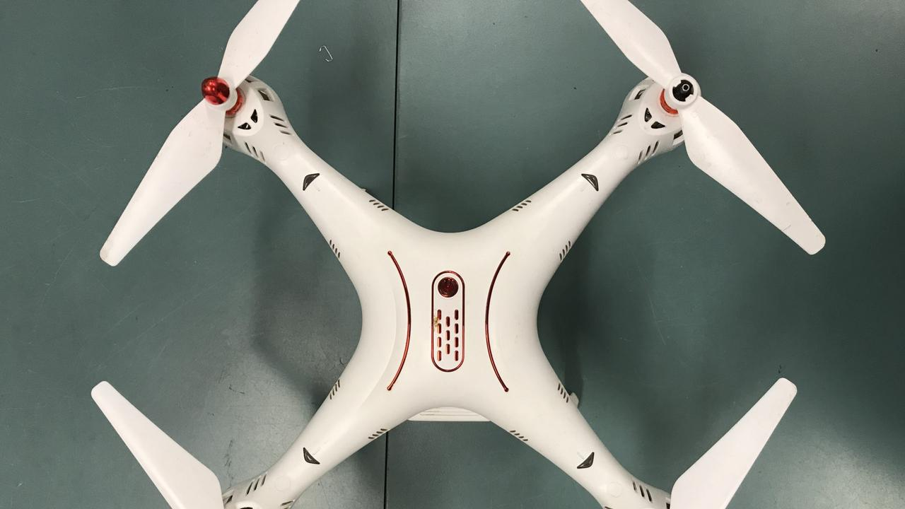 PROPERTY ROOM: White Syma drone located in the backyard of a residential property in Slocomb Street, Avenell Heights on Monday, September 21 - QP2001986808