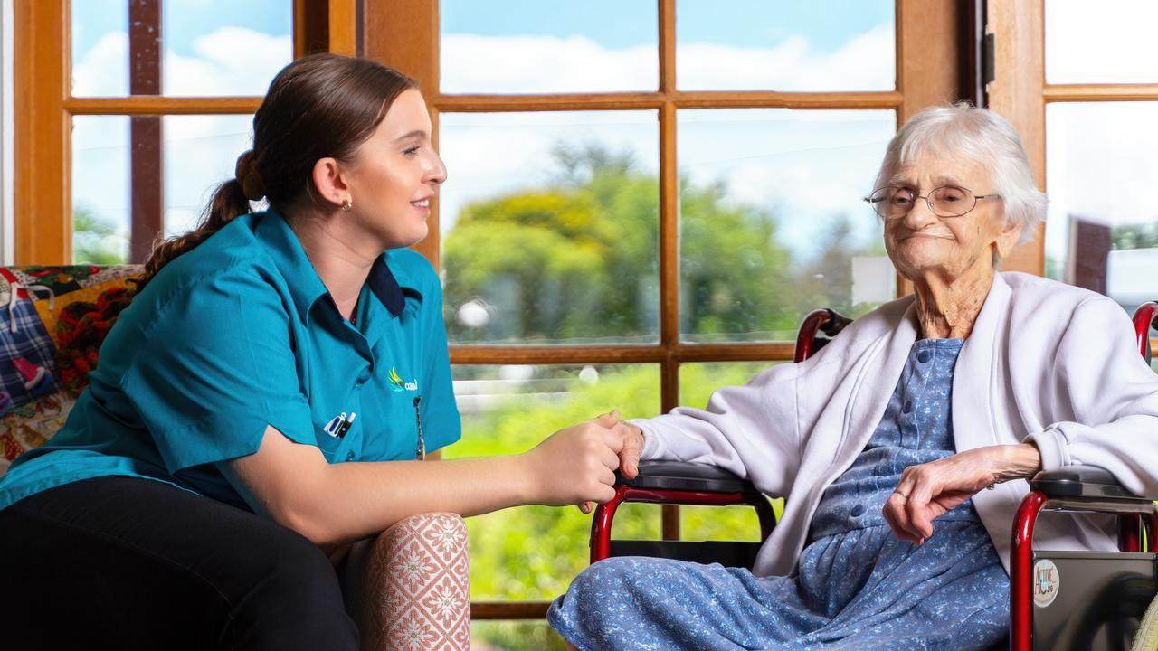 Carinity Aged Care staff are undertaking specialised dementia training to better support residents living with conditions such as Alzheimer's