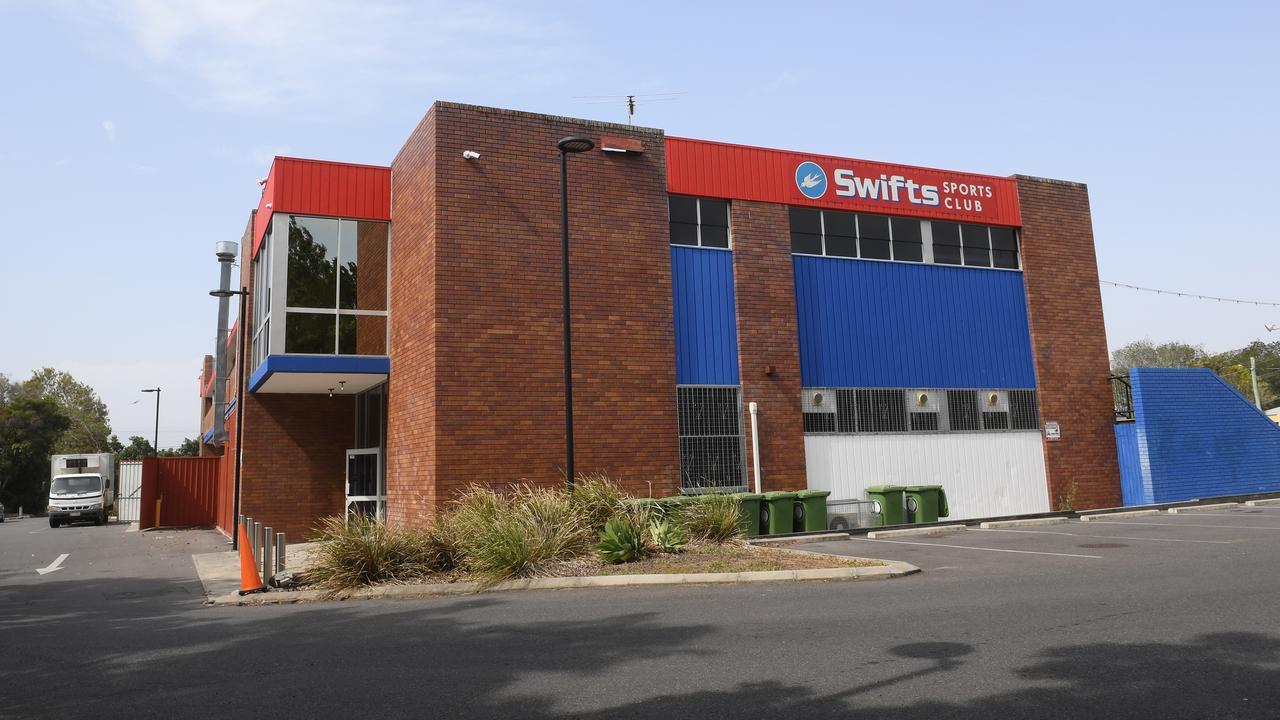 Swifts Sports Club in Booval.